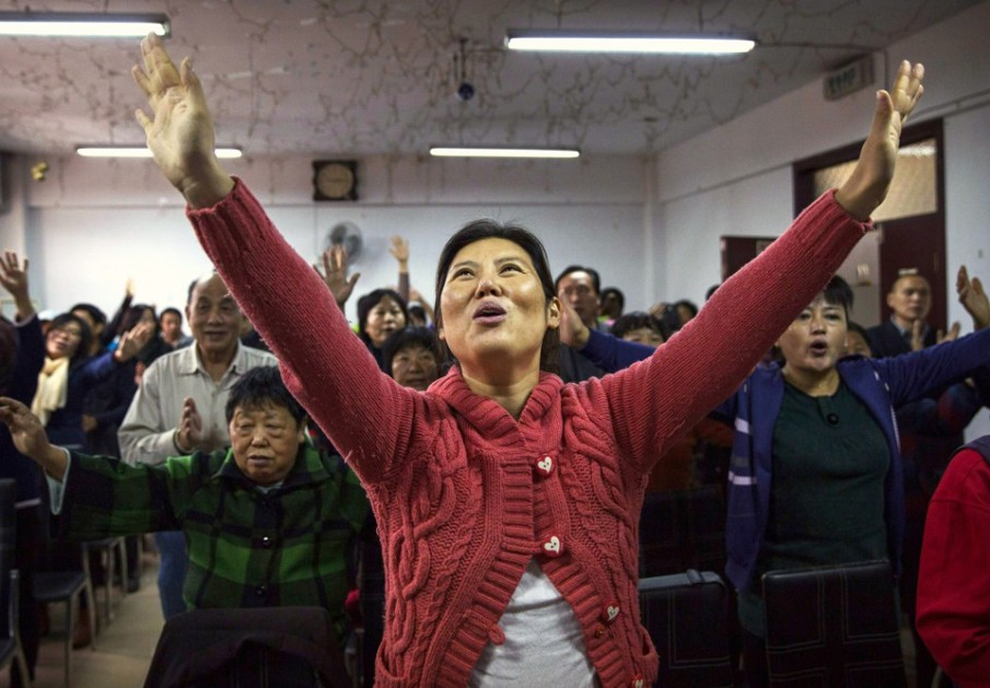 China's Christians Practice Their Faith in Underground Churches